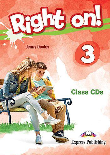 RIGHT ON! 3 CLASS CDs (SET OF 3) (INTERNATIONAL)