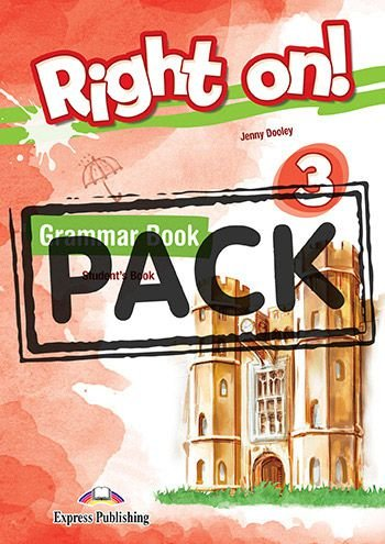 RIGHT ON! 3 GRAMMAR STUDENT'S BOOK (WITH DIGIBOOK APP) (INTERNATIONAL)