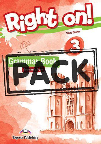 RIGHT ON! 3 GRAMMAR TEACHER'S BOOK (WITH DIGIBOOK APP) (INTERNATIONAL)
