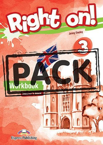 RIGHT ON! 3 WORKBOOK TEACHER'S BOOK (WITH DIGIBOOK APP) (INTERNATIONAL)