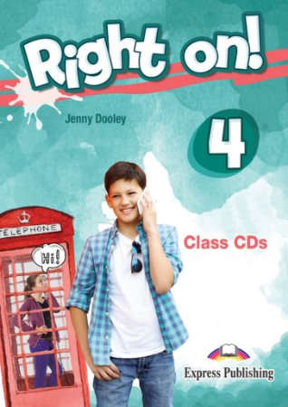 RIGHT ON! 4 CLASS CDs (SET OF 3) (INTERNATIONAL)