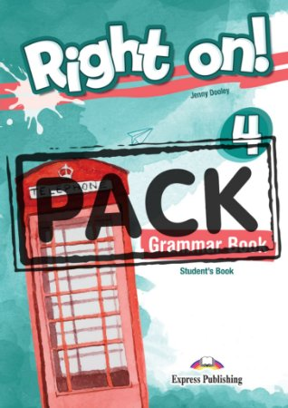 RIGHT ON! 4 GRAMMAR STUDENT'S BOOK (WITH DIGIBOOK APP) (INTERNATIONAL)