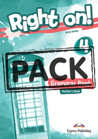 RIGHT ON! 4 GRAMMAR TEACHER'S BOOK (WITH DIGIBOOK APP) (INTERNATIONAL)