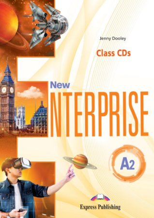 NEW ENTERPRISE A2 CLASS CDs (SET OF 3) (INTERNATIONAL)