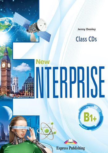 NEW ENTERPRISE B1+ CLASS CDs (SET OF 4) (INTERNATIONAL)