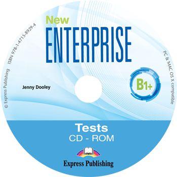 NEW ENTERPRISE B1+ TEST BOOKLET CD-ROM (INTERNATIONAL)