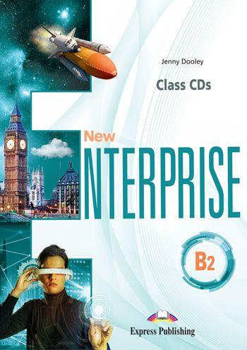 NEW ENTERPRISE B2 CLASS CDs (SET OF 4) (INTERNATIONAL)