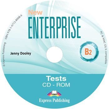 NEW ENTERPRISE B2 TEST BOOKLET CD-ROM (INTERNATIONAL)