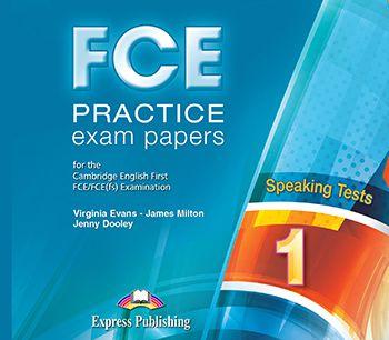 FCE PRACTICE EXAM PAPERS 1 SPEAKING AUDIO CDS