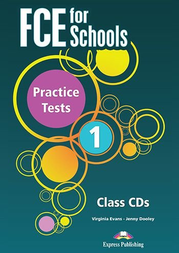 FCE FOR SCHOOLS PRACTICE TESTS 1 CLASS AUDIO CDs (SET OF 5)