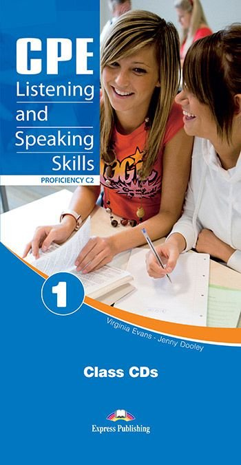 CPE LISTENING & SPEAKING SKILLS 1 PROFICIENCY C2 CLASS AUDIO CDs (SET OF 6)