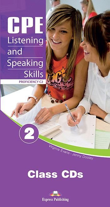 CPE LISTENING & SPEAKING SKILLS 2 PROFICIENCY C2 CLASS AUDIO CDs (SET OF 6)