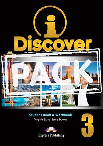 i-DISCOVER 3 STUDENT'S BOOK & WORKBOOK (WITH DIGIBOOKS APP)