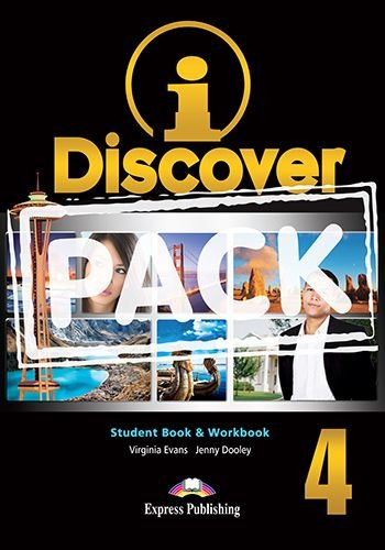 i-DISCOVER 4 STUDENT'S BOOK & WORKBOOK (WITH DIGIBOOKS APP)