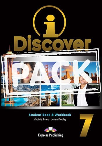 i-DISCOVER 7 STUDENT'S BOOK & WORKBOOK (WITH DIGIBOOKS APP)