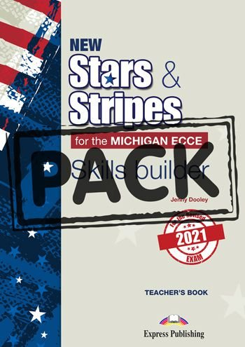 NEW STARS & STRIPES MICHIGAN ECCE SKILLS BUILDER T'S BOOK (WITH DIGIBOOK APP) (FOR THE REVISED 2021 EXAM)