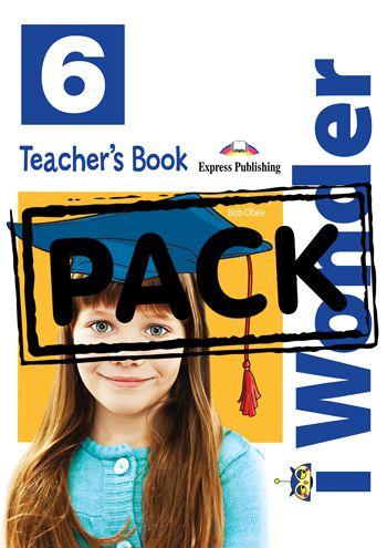 iWONDER 6 TEACHER'S BOOK (WITH POSTERS) (INTERNATIONAL)