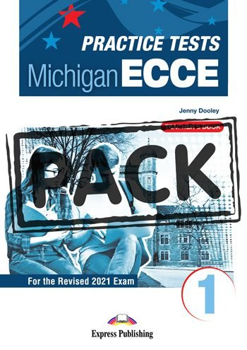 NEW PRACTICE TESTS FOR THE MICHIGAN ECCE 1 (2021 EXAM) TEACHER'S BOOK  (WITH DIGIBOOK APP)
