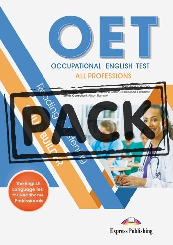 OET ALL PROFESSIONS RADING & LISTENING SKILLS BUILDER STUDENT BOOK (WITH DIGIBOOK APP)