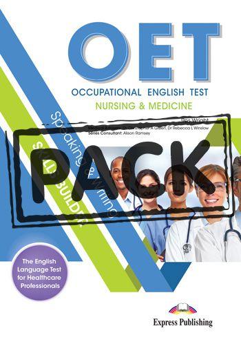 OET NURSING & MEDICINE SPEAKING & WRITING SKILLS BUILDER STUDENT BOOK (WITH DIGIBOOK APP)