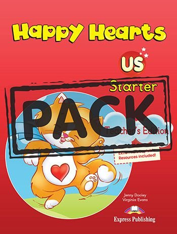 HAPPY HEARTS US STARTER TEACHER'S BOOK (WITH POSTERS)