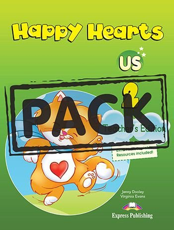 HAPPY HEARTS US 2 TEACHER'S BOOK (WITH POSTERS)