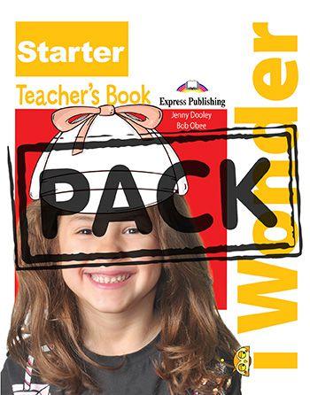 iWONDER STARTER TEACHER'S BOOK (WITH POSTERS) (INTERNATIONAL)