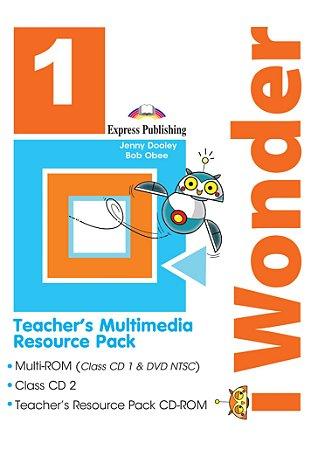 iWONDER 1 TEACHER'S MULTIMEDIA RESOURCE PACK(SET OF 3) (INTERNATIONAL)