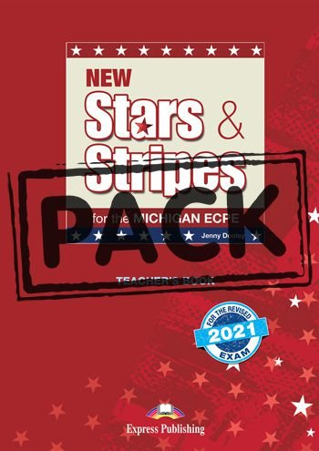 NEW STARS & STRIPES MICHIGAN ECPE TEACHER'S BOOK (WITH DIGIBOOK APP) (FOR THE REVISED 2021 EXAM)