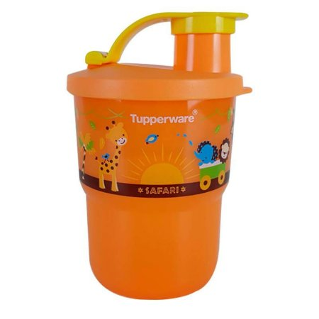 Tupperware Copo Colors Com Bico Baby Safari 225ml