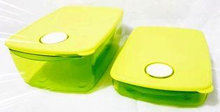 conjunto cristalwave plus retangular verde policarbonato