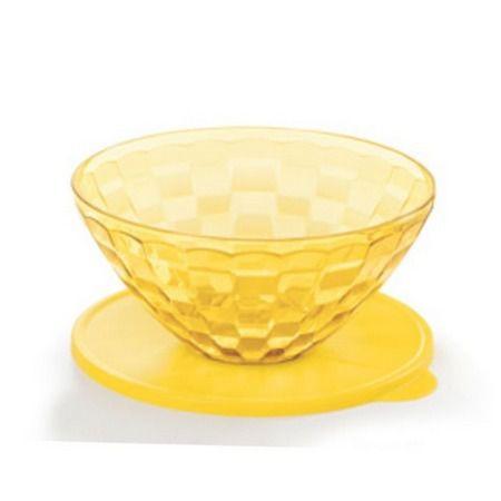 Tigela Prisma 2L Amarela Tupperware