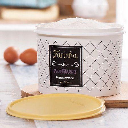 Tupperware Caixa Para Farinha Bistrô 1,8 Kg
