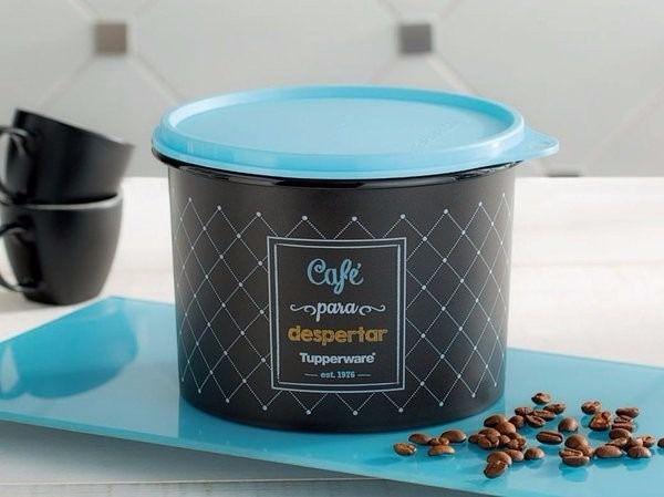 Tupperware Caixa de café Bistrô