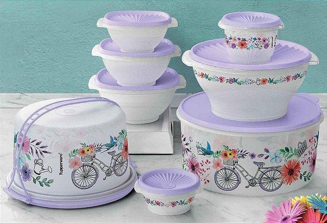 Tupperware Kit Sensação Primavera 8 Peças
