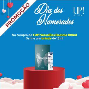 KIT DIA DOS NAMORADOS VERSAILLES - MASCULINO - 100ML + MINI 15ML - REF OLF: Invictus by Paco Rabanne