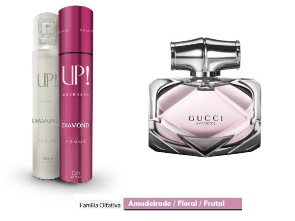 PERFUME UP! DIAMOND - GUCCI BAMBOO* - FEMININO 50ML