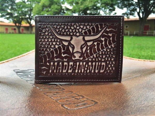 Carteira Made in Mud Farm (Marrom)