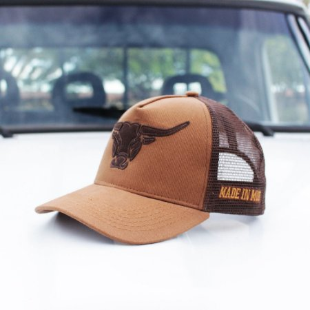 Boné Made in Mud Brown Trucker