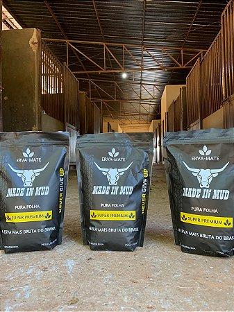 Erva Mate Made in Mud Pura Folha Super Premium
