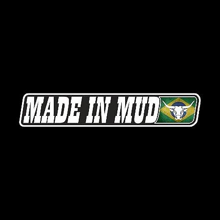 Adesivos Made in Mud Refletivo Mini do Brasil (2x10cm)