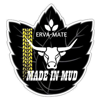 Adesivos Erva Mate Made In Mud  (Pequeno 10x10cm)
