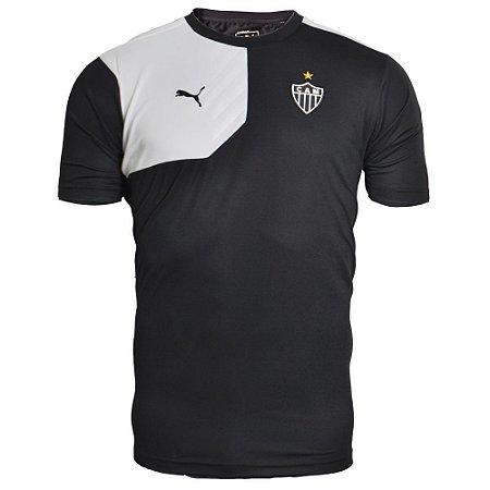 camisa Puma Atlético Mineiro 2015 Comissão técnica - Tamanho 3G eefdc2c548d45