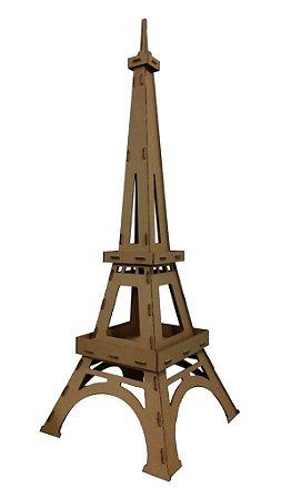Torre Eiffel De Papelão