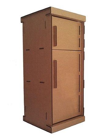 Refrigerador Duplex de Papelão