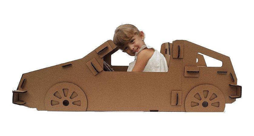 Carro de Papelão - Modelo B