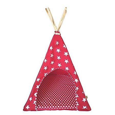 Tenda para Gatos - Star Rosa