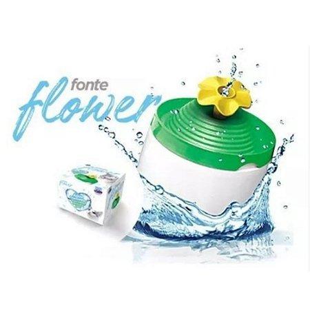 Fonte de Água para Gatos – Flower 220v - 1L