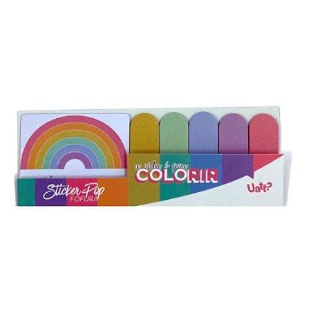 Sticker Post-it Pop - Colorir