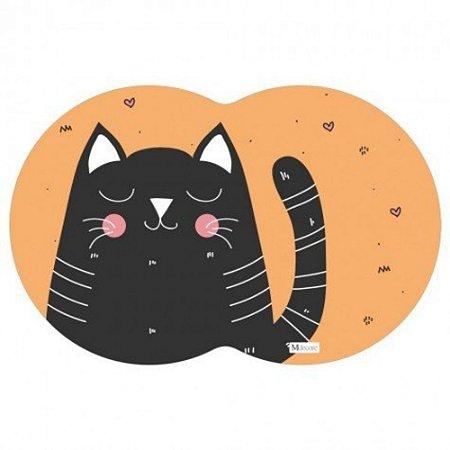 Tapete - Jogo americano Pet Gato Laranja